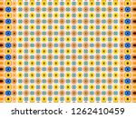 abstract texture. multicolored... | Shutterstock . vector #1262410459