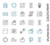 change icons set. collection of ... | Shutterstock .eps vector #1262419849