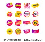 sale banner templates design.... | Shutterstock .eps vector #1262421520