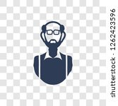 grandfather icon. trendy... | Shutterstock .eps vector #1262423596