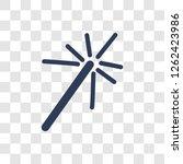 magic wand icon. trendy magic...   Shutterstock .eps vector #1262423986