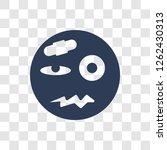 injured emoji icon. trendy...   Shutterstock .eps vector #1262430313