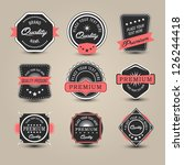 badges collection. vector | Shutterstock .eps vector #126244418