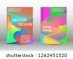 cover design. abstract wave... | Shutterstock .eps vector #1262451520