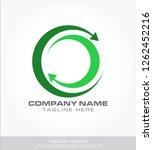 abstract arrow circle logo | Shutterstock .eps vector #1262452216