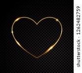 gold glittering star dust...   Shutterstock .eps vector #1262482759