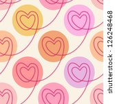 vector seamless pattern with...   Shutterstock .eps vector #126248468