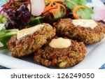 Freshly Cooked Crab Cakes With...