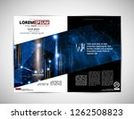 corporate booklet or... | Shutterstock .eps vector #1262508823