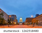 overview of the wisconsin state ... | Shutterstock . vector #1262518480