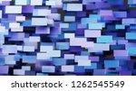 abstract digital monitors...   Shutterstock . vector #1262545549