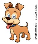 Illustration Of Cartoon Dog