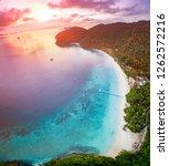 nyang oo phee island one of... | Shutterstock . vector #1262572216