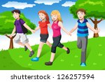 a vector illustration of a... | Shutterstock .eps vector #126257594
