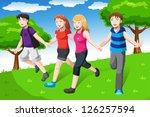 a vector illustration of a... | Shutterstock .eps vector #126257594