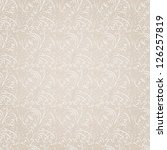 seamless floral pattern | Shutterstock . vector #126257819