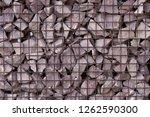 texture welded gabions | Shutterstock . vector #1262590300