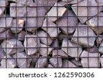 texture welded gabions | Shutterstock . vector #1262590306
