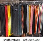 variety of different stripy ...   Shutterstock . vector #1262594620