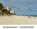 fort lauderdale  florida  u.s.a ... | Shutterstock . vector #1262654269