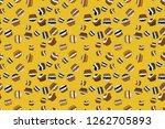 watercolor illustration. raster ... | Shutterstock . vector #1262705893