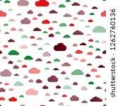 dark multicolor  rainbow vector ... | Shutterstock .eps vector #1262760136