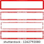 grunge post stamps collection ... | Shutterstock .eps vector #1262792080