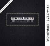 leather texture | Shutterstock .eps vector #126279464