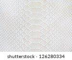 White Leather Texture  Snake...