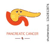 pancreatitic cancer awareness... | Shutterstock .eps vector #1262812876