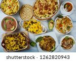 tex mex  cuisine  traditional... | Shutterstock . vector #1262820943