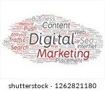 vector concept or conceptual...   Shutterstock .eps vector #1262821180
