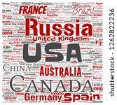 vector conceptual world...   Shutterstock .eps vector #1262822236