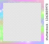 holographic magical square... | Shutterstock .eps vector #1262835973