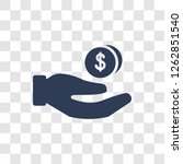 earnings icon. trendy earnings... | Shutterstock .eps vector #1262851540