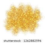 gold glitter sand frame... | Shutterstock . vector #1262882596