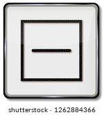 textile care symbol dry textile ... | Shutterstock . vector #1262884366
