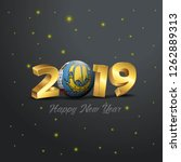 2019 happy new year saint...   Shutterstock .eps vector #1262889313