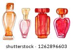 set of hand drawn sketches of...   Shutterstock . vector #1262896603