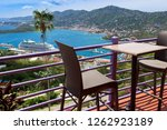 view at st. thomas harbor from... | Shutterstock . vector #1262923189