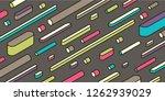 isometric pattern design in... | Shutterstock .eps vector #1262939029