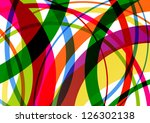 colorful line background...   Shutterstock .eps vector #126302138