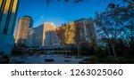 madrid   spain   12 14 2018  a... | Shutterstock . vector #1263025060