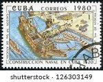 cuba   circa 1980  a stamp... | Shutterstock . vector #126303149