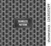 geometric pattern background.... | Shutterstock .eps vector #1263035299