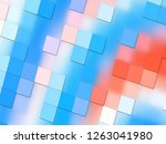 beautiful colorful parallax... | Shutterstock . vector #1263041980