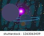 2d illustration. cartoon draw...   Shutterstock . vector #1263063439
