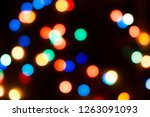 abstract colorful defocused... | Shutterstock . vector #1263091093