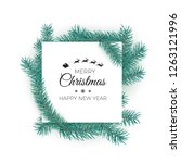 merry christmas and happy new... | Shutterstock .eps vector #1263121996