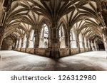 Cloister Arch Perspective Of...